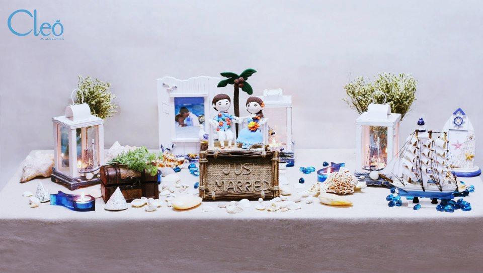 Trang trí bàn gallery cho đám cưới