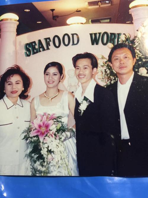 Phát sốt với ảnh cưới của danh hài Hoài Linh