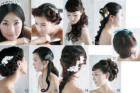 Những kiểu tóc đẹp ngày cưới cho cô dâu