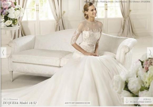 Những mẫu váy cưới đẹp nhất mùa xuân 2017